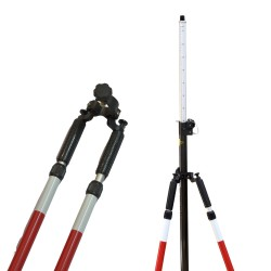 Telescopic bipod for GNSS & Prism pole