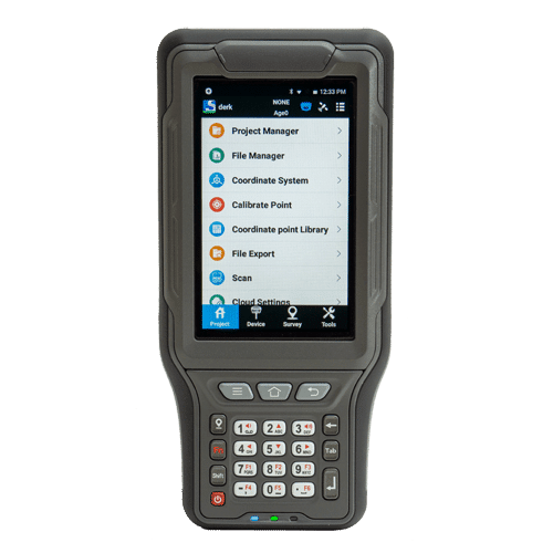 P9II Pro - 4.3'' ultra-rugged Android device