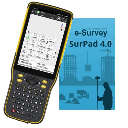 P8II rugged controller & SurPad 4.0 field software